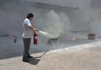 香河:消防演练进超市