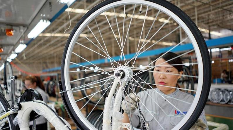 河北广宗:自行车企业转型升级拓展海外市场