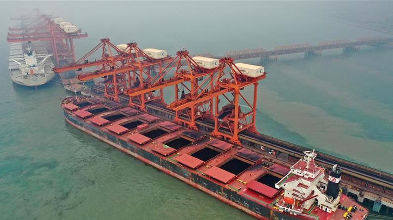 河北唐山曹妃甸港区上半年货物吞吐量超1.7亿吨