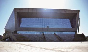 承德市冰上运动中心项目场馆建设完毕