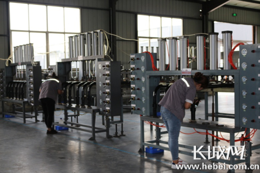 河北孟村:管道装备制造业再发力 瞄准高端促升级