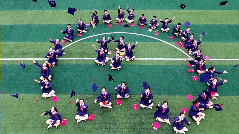 广西河池一小学举办2019届毕业典礼