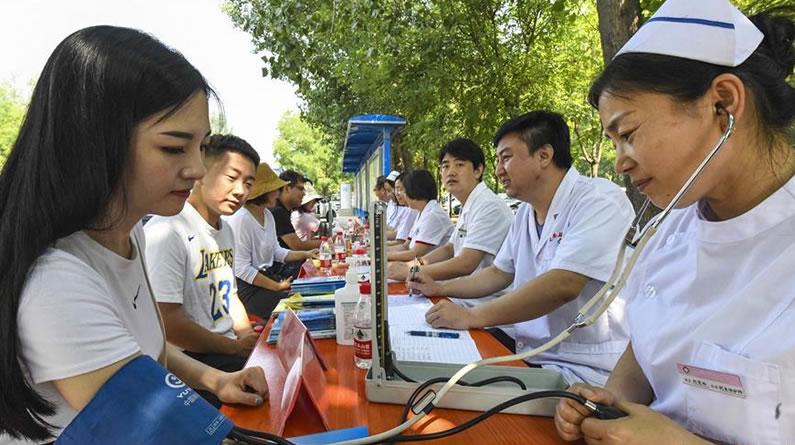 河北文安:志愿服务花开遍地