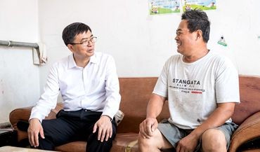 <br /> 陈刚调研雄县基层党的建设、农村人居环境整治