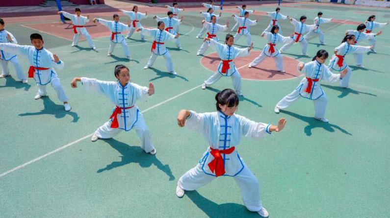 邯郸:习武度暑假