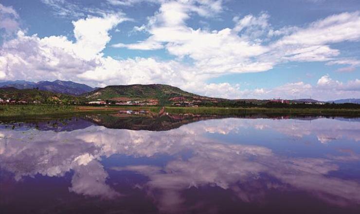 环境综合治理 打造生态湿地