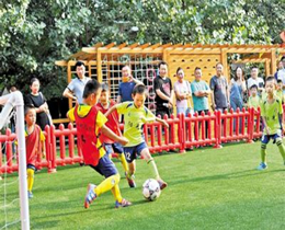 足球教育向幼儿园延伸