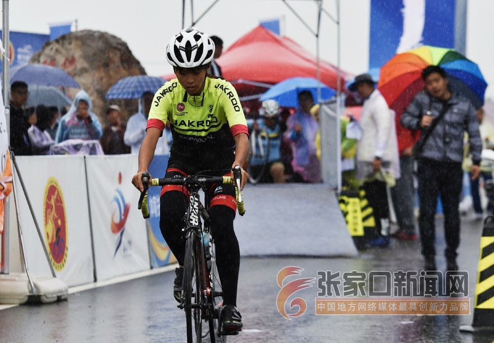2019年河北省青少年公路自行车锦标赛在尚义举行