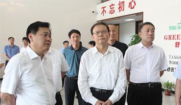 张古江:抓落实解难题聚力推动企业高质量发展