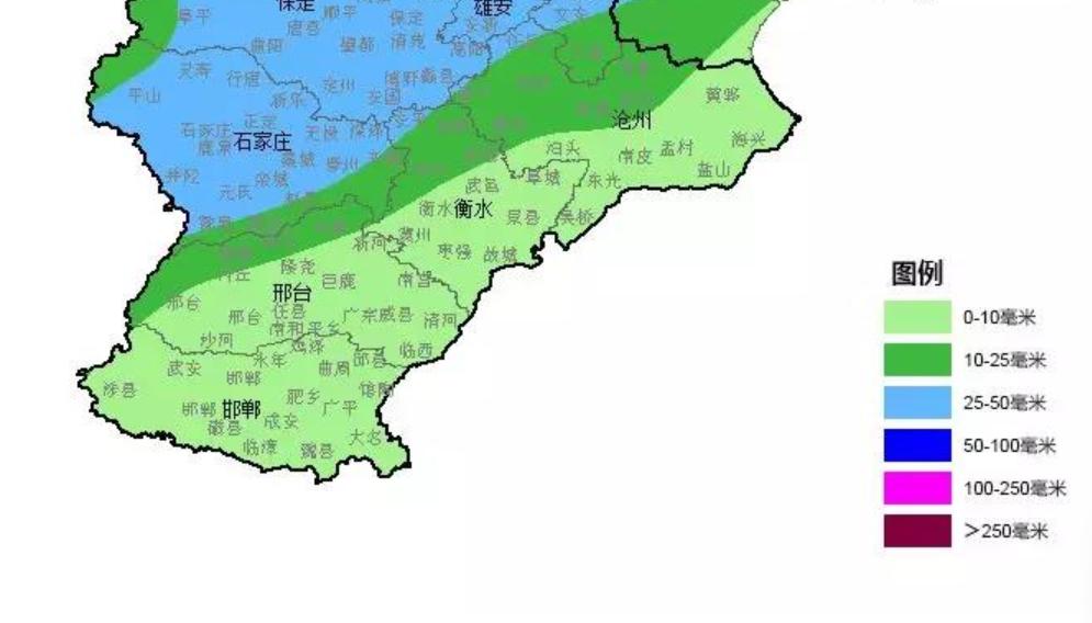 注意啦!河北大部或迎来最强降雨!