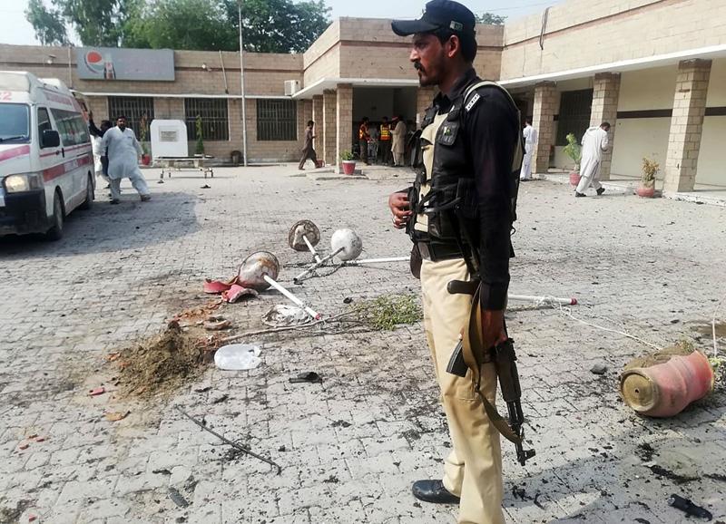 巴基斯坦一檢查站遭襲