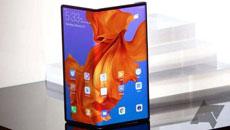 华为首款折叠屏手机Mate X或将上市