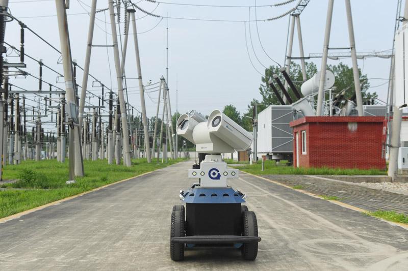 智能机器人巡检电网