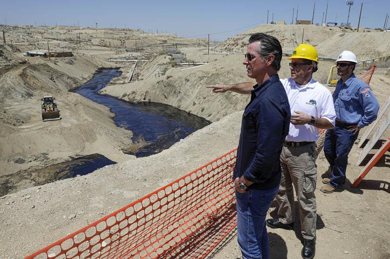 加州雪佛龙油田发生漏油