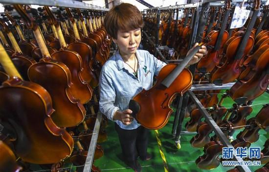 河北武强:西洋乐器产品生产实现全覆盖