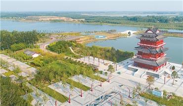 阜城:打造生態宜居新城市