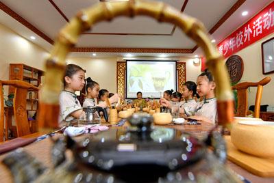 河北乐亭:研习传统文化 丰富暑假生活
