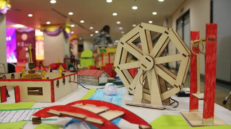 中泰学生首次举行创客比赛