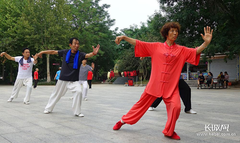 石家莊:全民健身掀熱潮