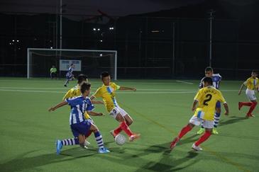 2019年國際少年足球賽在太舞揭幕