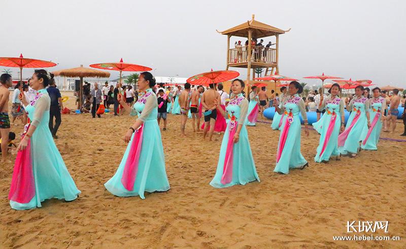 沧州渤海新区七夕佳节主题活动丰富多彩