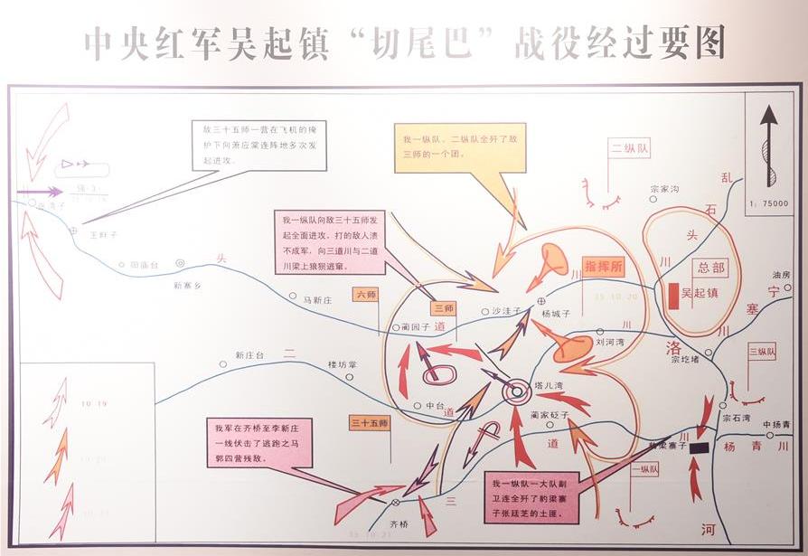 """""""切尾巴""""战役:中央红军结束长征的最后一仗"""