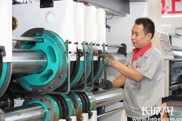 东光纸箱包装机械产业奏响三部曲