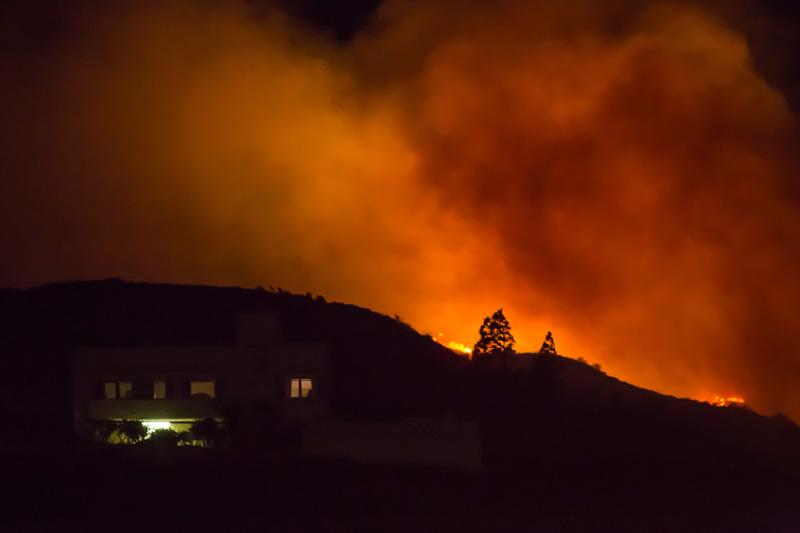 西班牙发生森林大火
