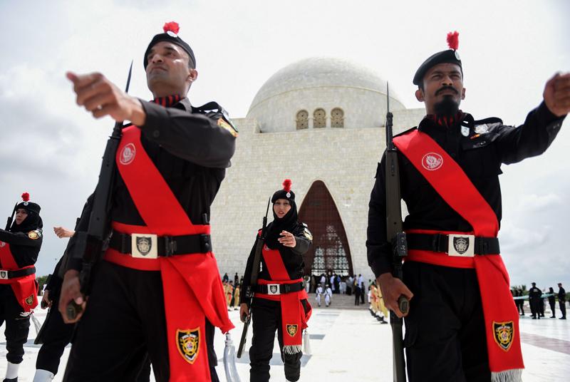巴基斯坦庆祝独立日