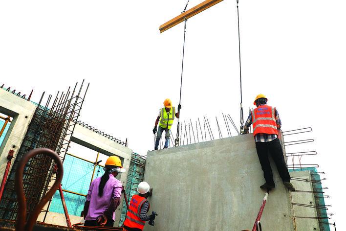丰润区以绿色发展为理念,大力推广装配式住宅建设