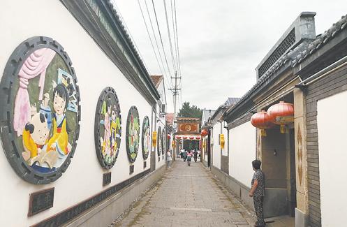冀州区岳良村——传承历史文化 建设美丽乡村