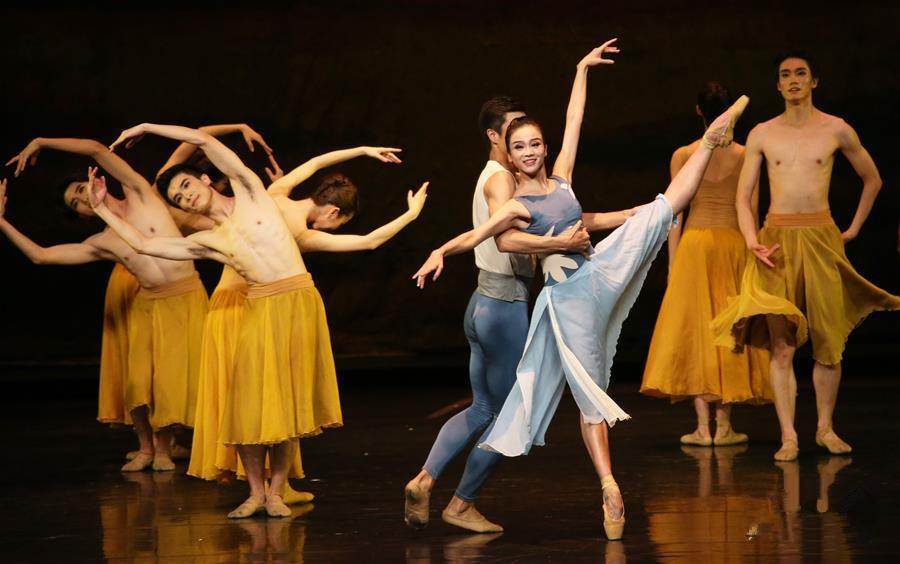 广州芭蕾舞团首登纽约林肯中心