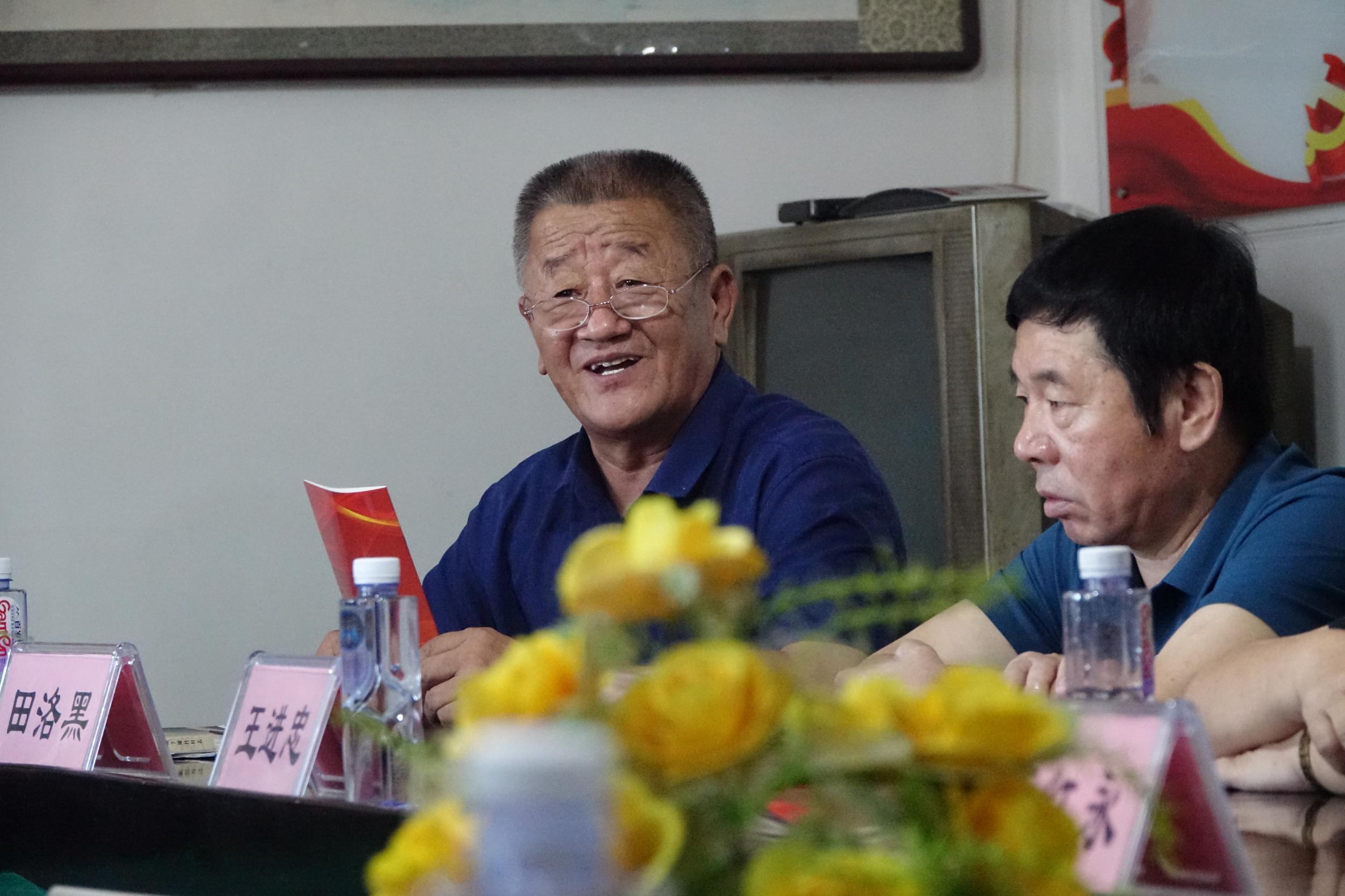 顺平县高于铺镇改传统党建述职会为党建擂台赛