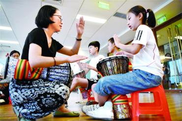 安次:推出暑期公益课堂丰富假期生活
