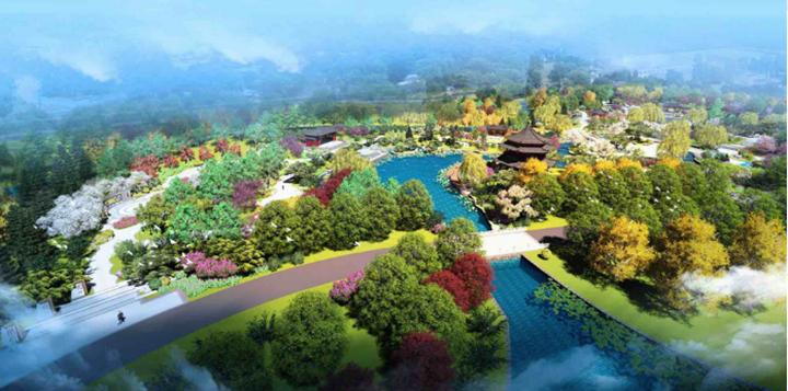 自然 城市 人文三重景观交融 看邢台如何打造园博会