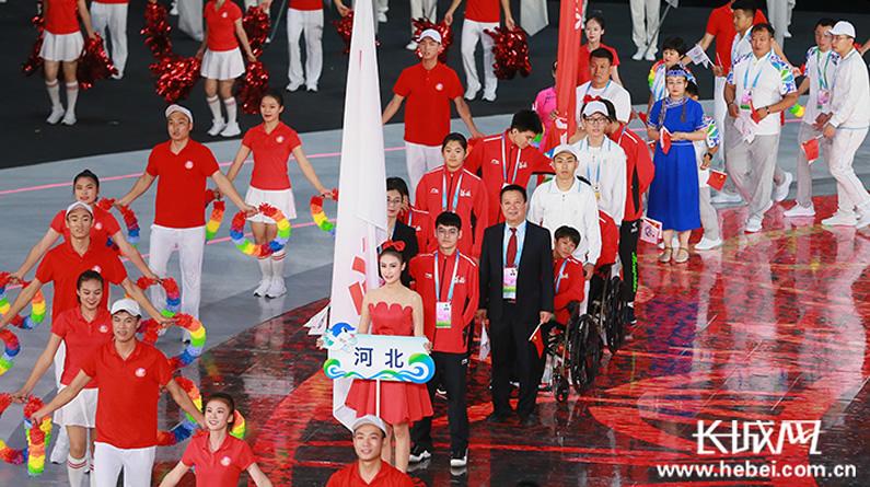 全国第十届残疾人运动会暨第七届特奥会在天津开幕