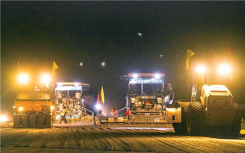 国道G338安平段改造工程稳步推进