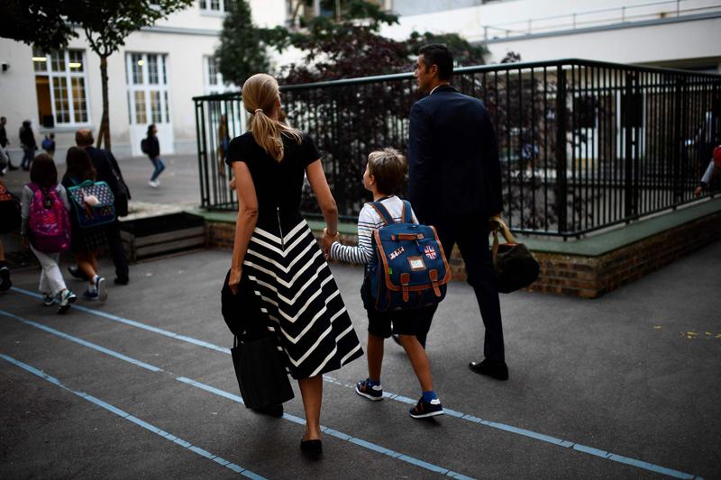 法国约1240万中小学学生入学