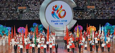 第十屆全國殘運會閉幕河北代表團創歷史最佳成績