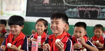 河北省農村小學生都吃上免費營養餐啦