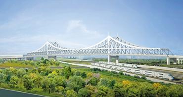 廊坊市光明道上跨铁路立交预计本月开工