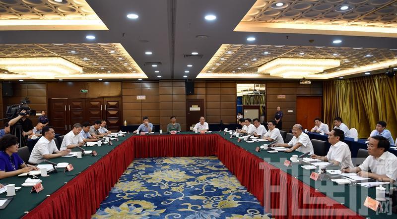 邯郸市党政代表团赴邢台考察学习