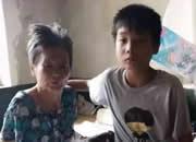 沧州12岁男孩撑起苦难之家