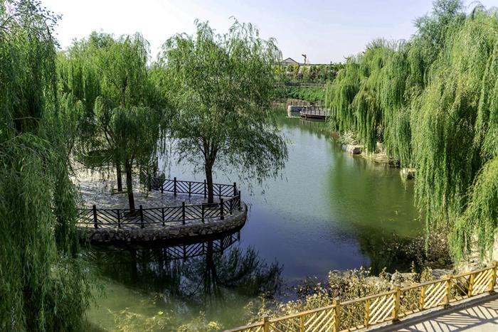 平山县李家庄:美丽乡村让乡亲们生活越来越红火
