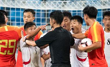 国奥队黄石热身赛首战1:1平朝鲜