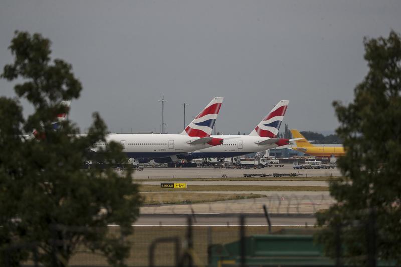 英国航空飞行员大罢工