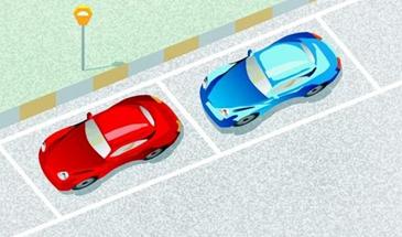 承德施划道路1900平方米增设停车泊位148个