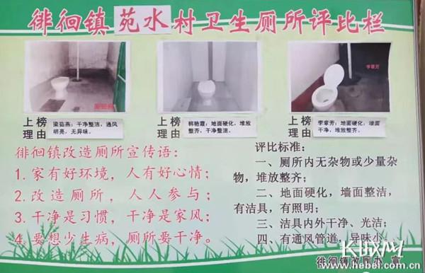 """武安:""""厕所革命""""革出农村新面貌"""