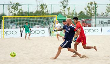 中·拉沙灘足球錦標賽閉幕 中國隊獲得季軍