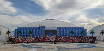 """塔元庄:1600余村民同框拍摄""""最牛全家福"""""""